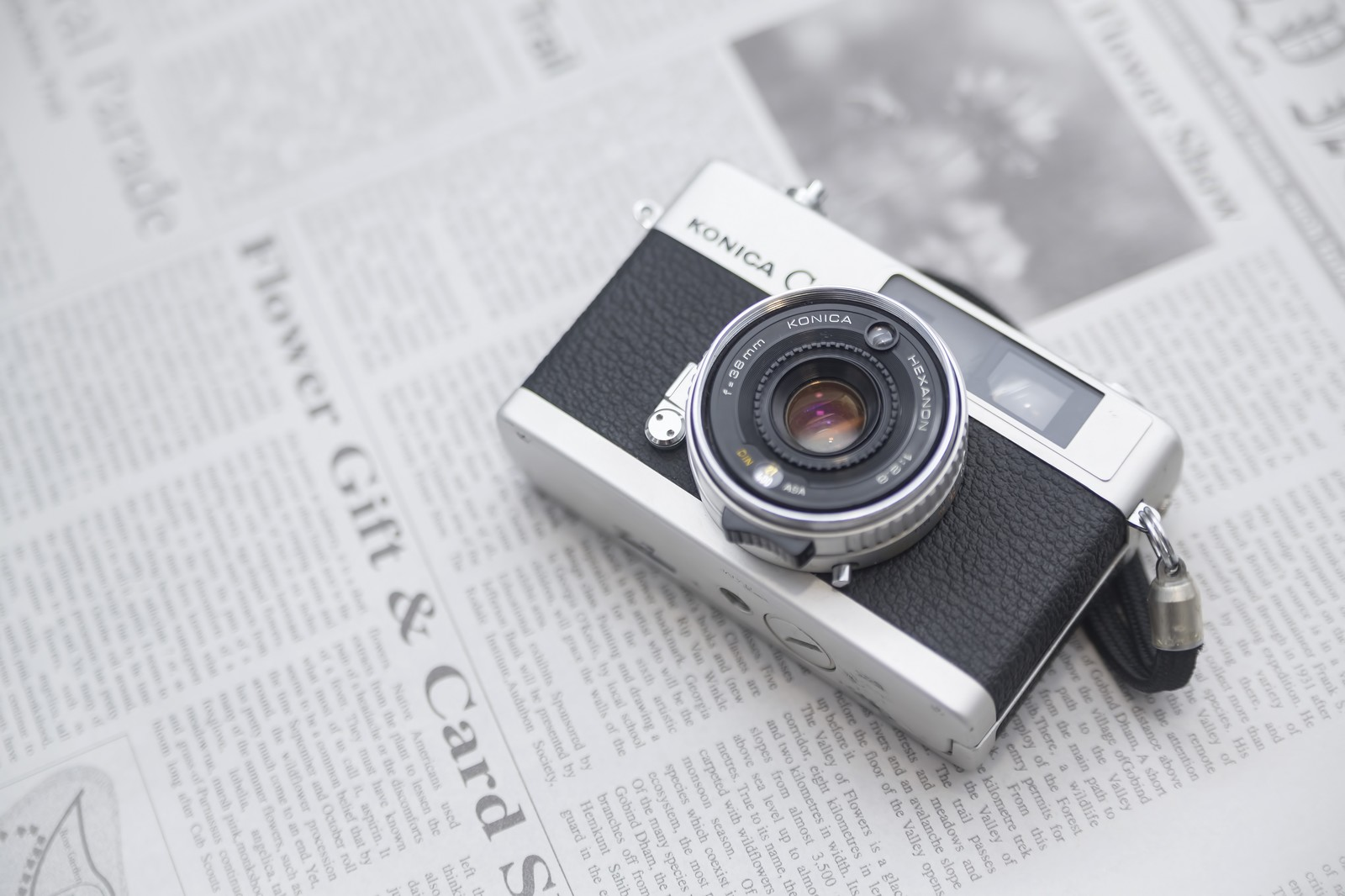 リサイクルするカメラ