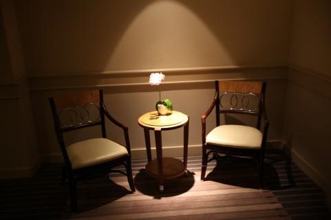 故人の遺品の椅子